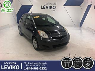 Used 2010 Toyota Yaris **A/C + TRANSMISSION MANUELLE** for sale in Lévis, QC