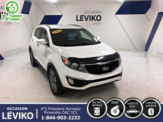 Used 2014 Kia Sportage SX AWD **TURBO + BLUETOOTH + CAMERA DE RECULONS** for sale in Lévis, QC