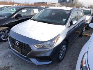 New 2020 Hyundai Accent ESSENTIAL COMFORT 5 DOORS for sale in Burlington, ON
