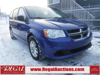 Used 2013 Dodge GRAND CARAVAN SE 4D WAGON 3.6L for sale in Calgary, AB