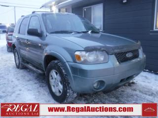 Used 2006 Ford Escape Limited 4D Utility 4WD for sale in Calgary, AB