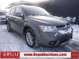 Used 2013 Dodge Journey SXT 4D Utility FWD for sale in Calgary, AB