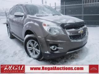 Used 2011 Chevrolet EQUINOX LTZ 4D UTILITY FWD for sale in Calgary, AB