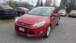 Used 2012 Ford Focus SEL ALLOY WHEELS HEATED SEATS SUPER CLEAN for sale in Stouffville, ON