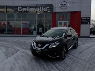 Used 2017 Nissan Murano Platinum AWD, LEATHER, NAVIGATION,POWER LIFT GATE for sale in Belleville, ON