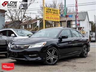 Used 2016 Honda Accord Sedan Touring*Automatic*Leather*Sunroof*Navi*BlindSpot* for sale in Toronto, ON