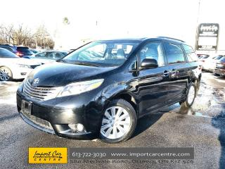 Used 2017 Toyota Sienna XLE 7 Passenger LEATHER  ROOF  NAVI  BLIS  HEATED for sale in Ottawa, ON