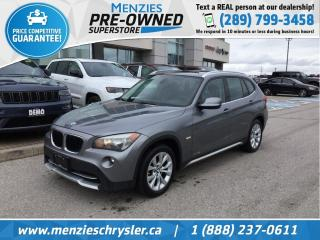 Used 2012 BMW X1 28i, 4x4, Sunroof, Leather, Clean Carfax for sale in Whitby, ON