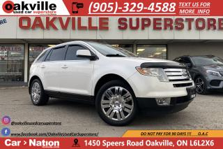 Used 2009 Ford Edge AWD LIMITED | PANO ROOF | LEATHER | HTD SEATS for sale in Oakville, ON