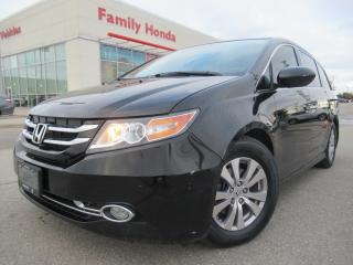 Used 2015 Honda Odyssey 4dr Wgn EX-L | LEATHER | PUSH START | NAVIGATION! for sale in Brampton, ON