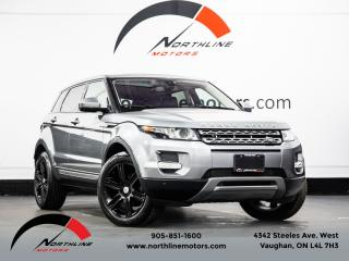 Used 2014 Land Rover Evoque Pure Plus|Navigation|Camera|Pano Roof|F/R Heated Leather for sale in Vaughan, ON