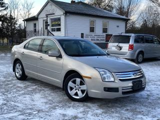 Used 2009 Ford Fusion No-Accidents 4 Cyl Power Group A/C Cruise Park Assist for sale in Sutton, ON