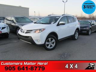 Used 2014 Toyota RAV4 XLE  AWD ROOF HS REAR-CAM BT ALLOYS for sale in St. Catharines, ON