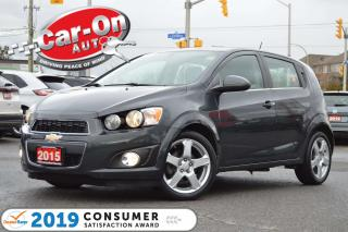 Used 2015 Chevrolet Sonic LT HATCH FUN & SUN SUNROOF REAR CAM HTD SEATS for sale in Ottawa, ON