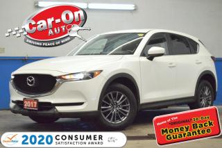 Used 2017 Mazda CX-5 SkyActiv REAR CAM PWR GRP BLUETOOTH ALLOYS for sale in Ottawa, ON