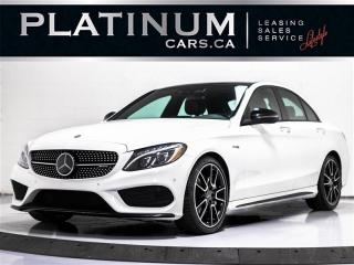 Used 2017 Mercedes-Benz C-Class C43 4MATIC, AMG, NAV, PREMIUM, PANO, BLIND SPOT for sale in Toronto, ON