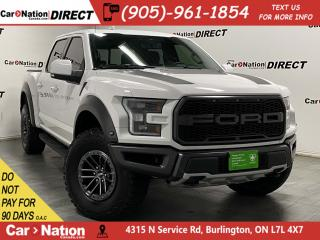 Used 2019 Ford F-150 Raptor| 4X4| PANO ROOF| NAVI| for sale in Burlington, ON