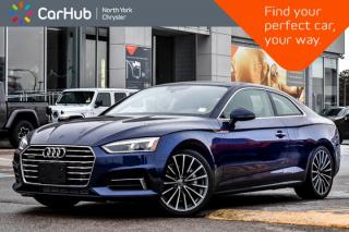 Used 2019 Audi A5 Coupe Technik for sale in Thornhill, ON