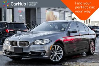 Used 2016 BMW 5 Series 528i xDrive|H/K.Audio|Navi|Sunroof|Heat&Memory.Frnt.Seats|Sat.Radio| for sale in Thornhill, ON