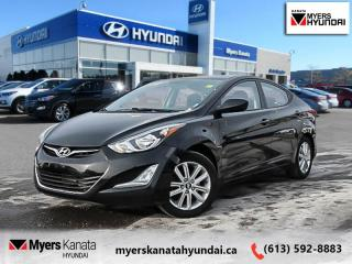 Used 2015 Hyundai Elantra GLS  - $76 B/W for sale in Kanata, ON