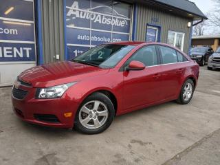 Used 2012 Chevrolet Cruze Automatique + a/c + mag for sale in Boisbriand, QC