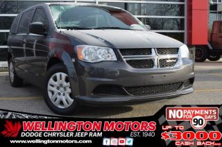Used 2016 Dodge Grand Caravan Canada Value Package - One Owner - Cert. for sale in Guelph, ON