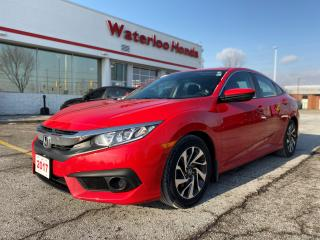 Used 2017 Honda Civic One Owner, Accident Free Civic EX! Honda Certified Powertrain Warranty To 160,000KM or 12/14/2023! for sale in Waterloo, ON