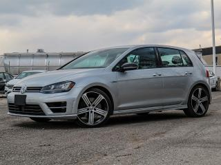 Used 2017 Volkswagen Golf R CPO|LOW FINANCE RATES AVAILABLE|SPECIAL PRICE AND CLEAN CARFAX for sale in Toronto, ON