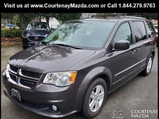 Used 2015 Dodge Grand Caravan Crew for sale in Courtenay, BC