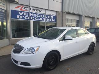 Used 2016 Buick Verano CONVENIENCE AUTO BAS KM PETIT BUDGET for sale in St-Hubert, QC