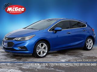 Used 2017 Chevrolet Cruze Premier Auto 1.4L Turbo for sale in Peterborough, ON