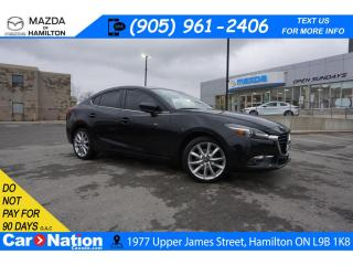 Used 2017 Mazda MAZDA3 GT | LEATHER | SUNROOF | NAV | REAR CAM | BOSE for sale in Hamilton, ON
