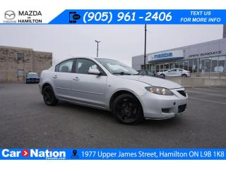 Used 2008 Mazda MAZDA3 GS | AS-TRADED | ALLOYS | CRUISE CONTROL for sale in Hamilton, ON