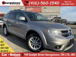 Used 2015 Dodge Journey SXT | ALPINE | NAVI | SUNROOF | DVD | CLEAN CARFAX for sale in Georgetown, ON
