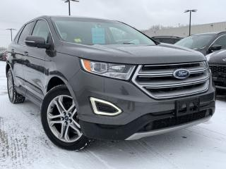 Used 2016 Ford Edge Titanium HEATED SEATS, NAVIGATION for sale in Midland, ON