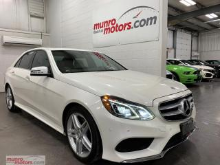 Used 2014 Mercedes-Benz E-Class 4dr Sdn E350 4MATIC lane assist blind spot Brembo for sale in St. George Brant, ON