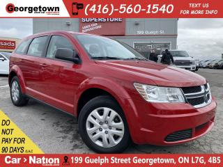 Used 2017 Dodge Journey Canada Value Pkg| ONLY 26KMS | BLUTOOTH|PUSH START for sale in Georgetown, ON