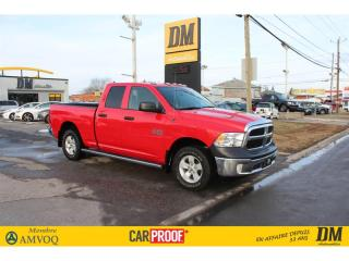 Used 2017 RAM 1500 SXT QUAD 4X4 CAMÉRA DE RECUL  MAGS MARCHE-PIEDS for sale in Salaberry-de-Valleyfield, QC