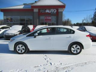 Used 2013 Honda Civic 4dr Auto LX +MAG+8 PNEU for sale in Notre-Dame-Des-Prairies, QC