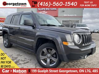 Used 2015 Jeep Patriot High Altitude|LEATHER| ROOF|HTD SEATS |FOGS|ALLOYS for sale in Georgetown, ON