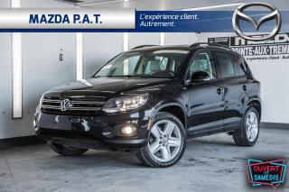 Used 2016 Volkswagen Tiguan 4MOTION+CUIR+TOIT PANO+CAMERA DE RECU for sale in Montréal, QC