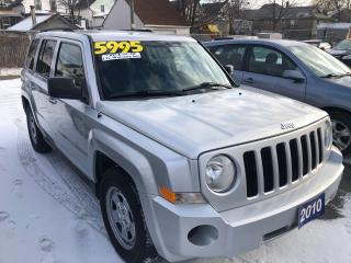 Used 2010 Jeep Patriot North, 4 Wheel Drive for sale in St Catharines, ON