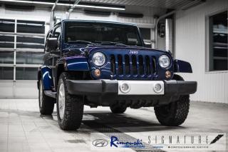 Used 2013 Jeep Wrangler 4WD Sahara chez Rimouski Hyundai for sale in Rimouski, QC
