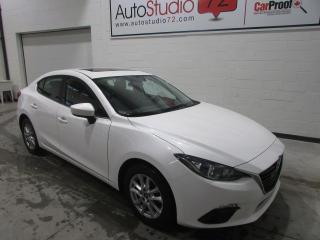 Used 2016 Mazda MAZDA3 GS **AUTO**TOIT**MAGS**PUSH START**SIEGE for sale in Mirabel, QC