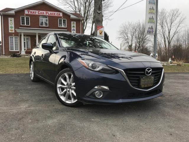 2014 Mazda MAZDA3 s Grand Touring AT 4-Door Heads Up Display-Backup Camera-Heated Seats-Alloys-Cruise Control-Power Roof