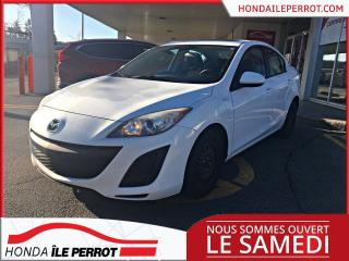 Used 2011 Mazda MAZDA3 3, GS WOW IDÉAL POUR ÉTUDIANT. for sale in Île-Perrot, QC