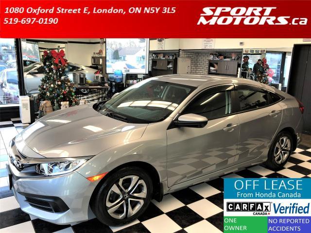 2018 Honda Civic LX+Apple Play+Camera+Bluetooth+Heated Seats