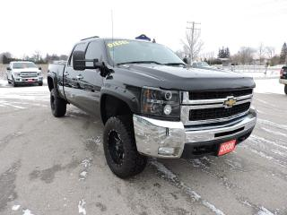 Used 2008 Chevrolet Silverado 2500 LTZ. Diesel. Leather. Sunroof. DVD for sale in Gorrie, ON