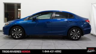 Used 2015 Honda Civic EX + MAGS + TOIT + SIEGES CHAUFFANTS + B for sale in Trois-Rivières, QC