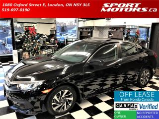 Used 2017 Honda Civic EX+Roof+Apple Play+Blind Spot+Lane Assist for sale in London, ON